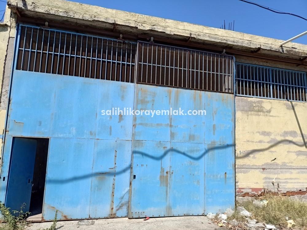 Gaziler Mahallesinde Betonarme Depo