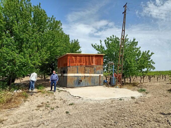 Çapaklı köy dibinde 106 Dönüm Bağ